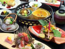 【秋の豪華特選料理】香り高い旬の味覚!【松茸】メインの会席料理を堪能~