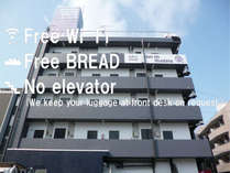 Free Wi-Fi・Free BREAD・No elevator