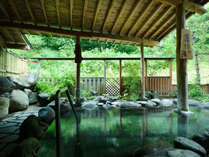 4月12日からお風呂新装オープン☆露天風呂(男湯)/屋根付だから雨でも楽しめます