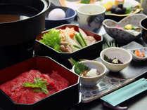 冬の贅沢~雫石牛のすき焼きを、南部鉄器のお鍋で・・・~