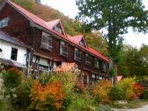 湯の小屋温泉 木造校舎の宿 葉留日野山荘