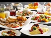 30種の和洋バイキング朝食/例