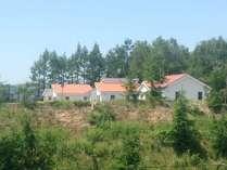 丘の上のコテージ棟