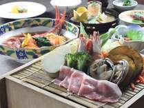 ■ある日の夕食の一例(イメージ)/お手頃感と美味しさが嬉しい、日替わり御膳をご提供します。