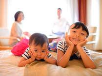 全室28平米以上からなるお部屋はご家族でのご利用にぴったりです♪もちろん未就学のお子様は添い寝無料♪