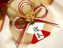 大晦日、元旦、2日は、お正月の特別会席プランとなります。