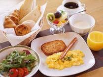 アメリカンスタイルの朝食をご用意