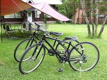 レンタルサイクル白馬を自転車でまわるのも楽しみ方のひとつです