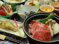 【カップル・夫婦】福島牛と会津の郷土料理×貸切風呂で温泉デートを♪