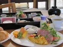 道産米の和食かふっくらパンの洋食から選べる朝食(イメージ)
