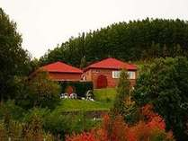 ふらのワイン工場:紅葉