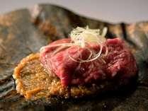 【ご当地贅沢バイキング☆メニューの一例】 飛騨牛の朴葉味噌焼き ※イメージ画像