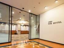 【梅田OSホテル】JR大阪駅から徒歩約 7分の好アクセス。