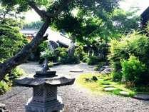 中芳我邸庭園の中にゲストハウスがあります。