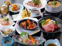 【夏・夏ゆらら会席♪ローストビーフ&穴子天ぷら&牛肉の陶板焼きでがっつり!】6月1日~8月31日