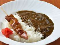 【朝食一例】こだわり抜いたカレールーでのやきとりカレーもご用意!