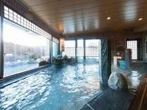 ◆女性大浴場内湯 pH9.1のアルカリ性温泉は別名「美人の湯」美肌効果に抜群♪