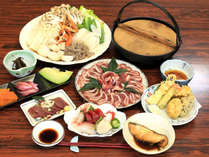 【冬季限定】体ぽかぽか♪山の宿ならではの郷土料理しし鍋料理を堪能!-1泊2食付-