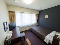【シングルルーム】ベッド205cm×120cm