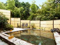 【温泉】源泉掛流し♪露店風呂・大浴場・貸切風呂がございます。