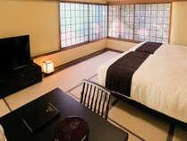 【大室】半露天風呂付客室 リニューアル和モダンタイプでお寛ぎください。