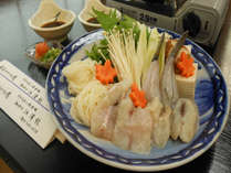 【ふぐ鍋】お鍋を囲んで秋冬の旬をいただく☆ふぐ鍋でほっこり♪