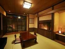 檜の露天風呂付き和室