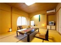 半露天風呂付の和室/客室例