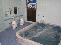 富士見湯 男性用の浴槽になります 館内の水道は富士山からの恵み地下水です