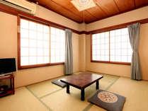 *旧館和室6畳 こちらもテレビ・エアコン完備