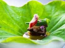 個室食事処「菊彩香」夏の料理一例