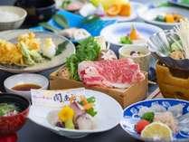 新鮮な魚に揚げたて絶品!アツアツ天婦羅が自慢のレストランで山と海の幸を楽しむ基本会席