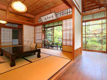 ★離れ香梅荘。今までお泊り出来ませんでしたが、創業120周年を迎えるにあたり、宿泊も可能になりました。,静岡県,志太温泉潮生館(しだおんせん ちょうせいかん)