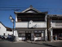 *【外観】登録有形文化財!大正末期に建てらた町家です