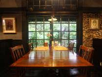 ◆西風和彩食館 夢鹿:静かにお食事が楽しめるレストラン