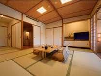 和室…47平米と広々した作り。10畳和室の奥に、3畳の次の間がございます。