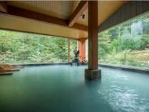 日本の温泉番付で東の横綱にも選ばれた『鳴子温泉』当館は大浴場の他に4つの無料貸切風呂もご用意してます