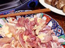 【淡海地鶏すき焼】食べごたえのある淡海地鶏を甘辛いタレのすき焼きで召し上がって下さい♪