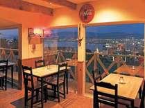 夜景を見渡せるレストラン