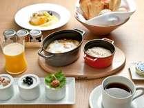 【じゃらん限定★朝食付】オールデイダイニング「ORIGAMI」の4種類よりお選びいただける朝食プレゼント!