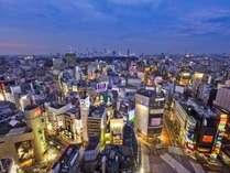 客室の最上階は24階、スクランブル交差点や109など渋谷ならではの眺望をお楽しみください。