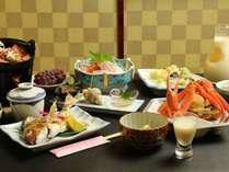 【春のオススメ】富山の春訪れ。ホタルイカ料理をプラス♪期間限定 旬の味覚に舌鼓。1泊2食付