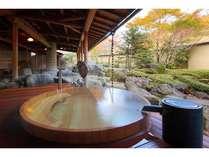 2012年7月オープン!木曽ひのきの樽風呂