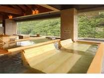 2012年7月オープン!展望ひのき癒しの湯『黒ゲルマニュウムの寝湯』
