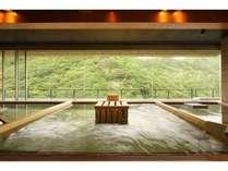 2012年7月オープン!展望ひのき癒しの湯『備長炭の湯』