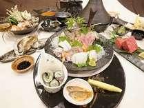 【贅沢会席プラン】 二食付、美熊野牛ミスジ温泉蒸し♪熊野灘で穫れた旬の魚介を堪能(【海華会席】♪