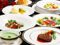 【2食付】『日本ダイエット協会会長』監修!低糖質でも味にこだわったカジュアルフレンチコース♪