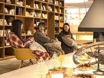 ■おふろcafe■洗練されたデザインの中にも、温かみのあるリラックスでできる空間