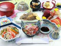 ■【夕食】ビジネス夕食一例。ボリュームたっぷりの定食スタイルでお腹いっぱい♪