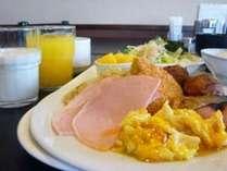 1日の元気!バイキング朝食